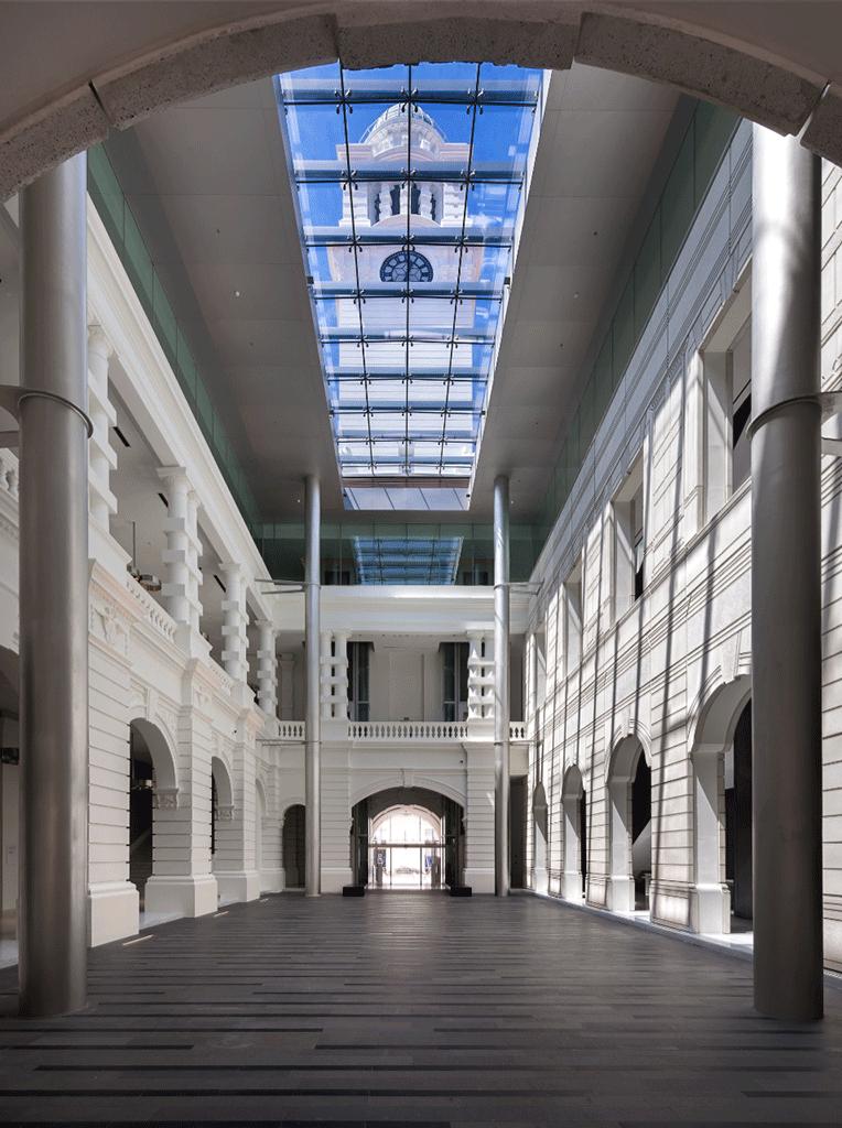 Central-atrium