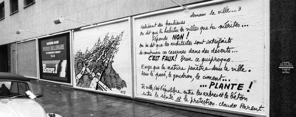 © Fonds Claude Parent . SIAF / Cité de l'architecture & du patrimoine
