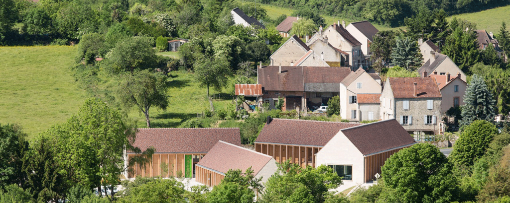 Bernard Quirot, Maison de santé, Vézelay, 2014. © Luc Boegly
