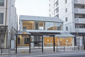 Centre culturel Ajiroen, Tokyo, Japon, en cours.