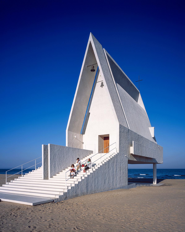 l'architecture d'aujourd'hui | chapelle de bord de mer | l