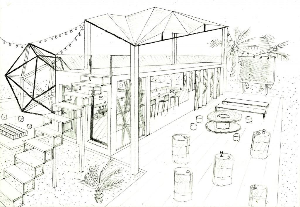 Concours Flash Architecture Ephemere - Ancelin Paul