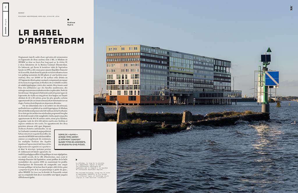 Andrew Ayers, La babel d'Amsterdam, n°416, L'Architecture d'Aujourd'hui