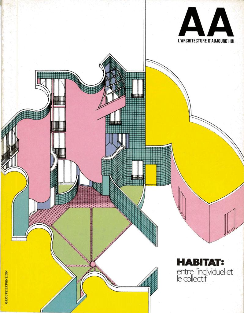 l 39 architecture d 39 aujourd 39 hui aa r tro les maisons cubes de piet blom l 39 architecture d. Black Bedroom Furniture Sets. Home Design Ideas