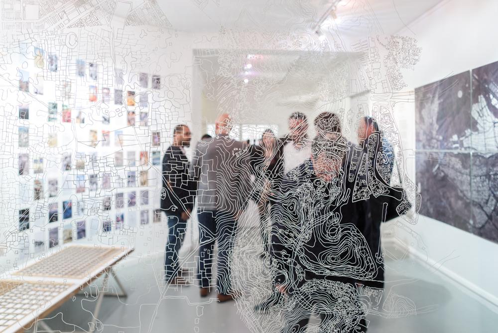 Exposition New South, Paris, novembre 2015 ©Pierre Serron