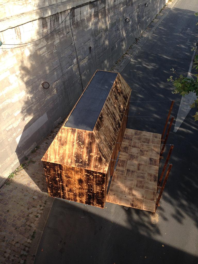 Tiny House prototype, D.A.T. Pangea