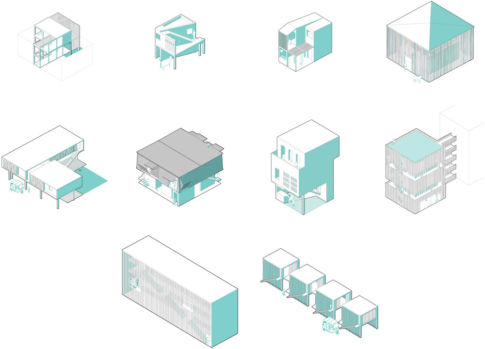 Toolhouses, ateliers, 10 propositions. ©Meriem Chabani