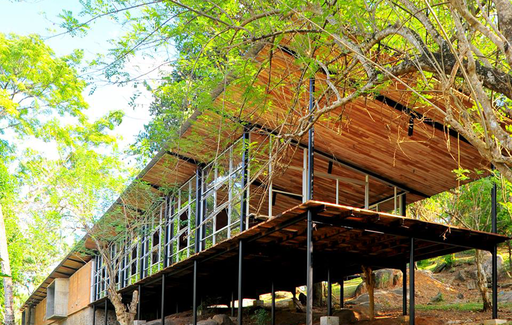 Community library, Ambepussa, Sri Lanka. © RAW
