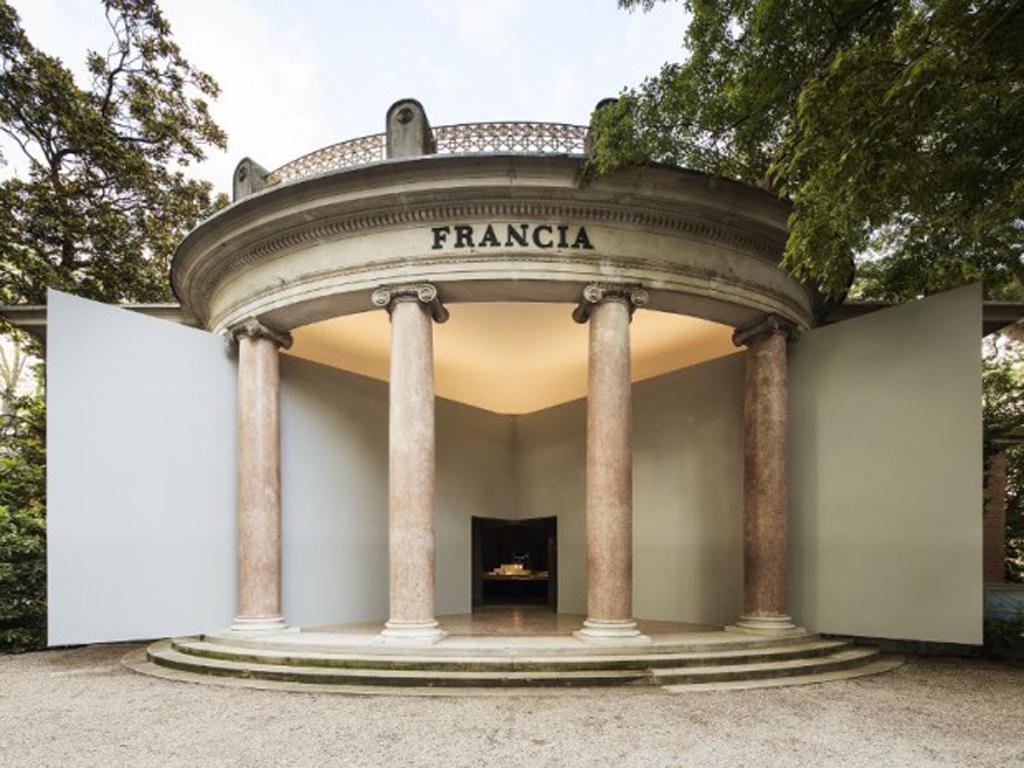 Le pavillon français de la Biennale de 2016 avait été conçu par l'équipe Obras-Frédéric Bonnet/Collectif AJAP14 © dr