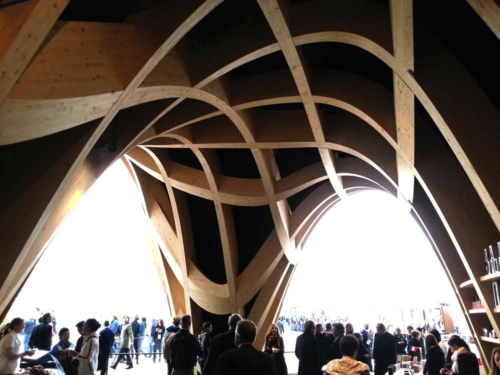 Pavillon de la France à l'Expo Milano, 2015, Italie © X-TU