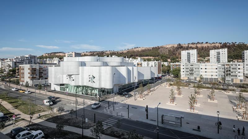 Le projet prend place dans le quartier des Pins, au sud du centre ville © Aldo Amoretti