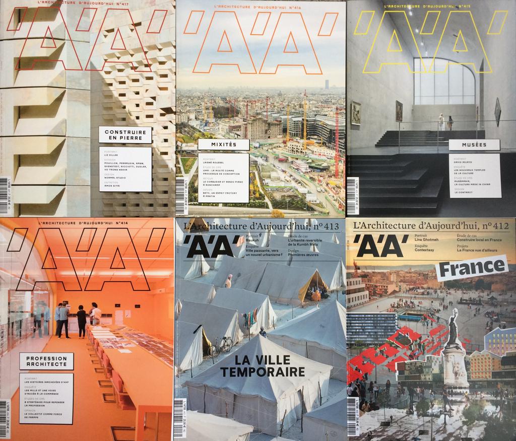 La revue © L'Architecture d'Aujourd'hui