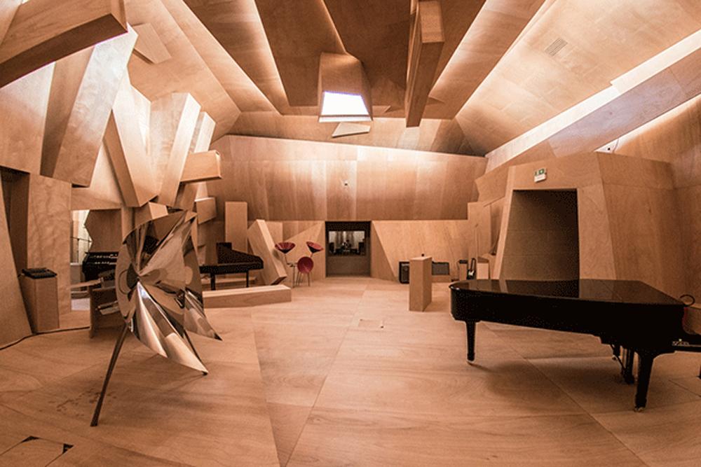 Xavier Veilhan, Studio Venezia (2017), Vue d'installation, Pavillon français, Biennale di Venezia Photo © Giacomo Cosua © Veilhan / ADAGP, Paris, 2017