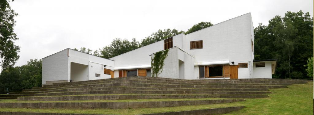 Maison Louis Carré, Bazoches-sur-Guyonne, 1960, Alvar Aalto © DR