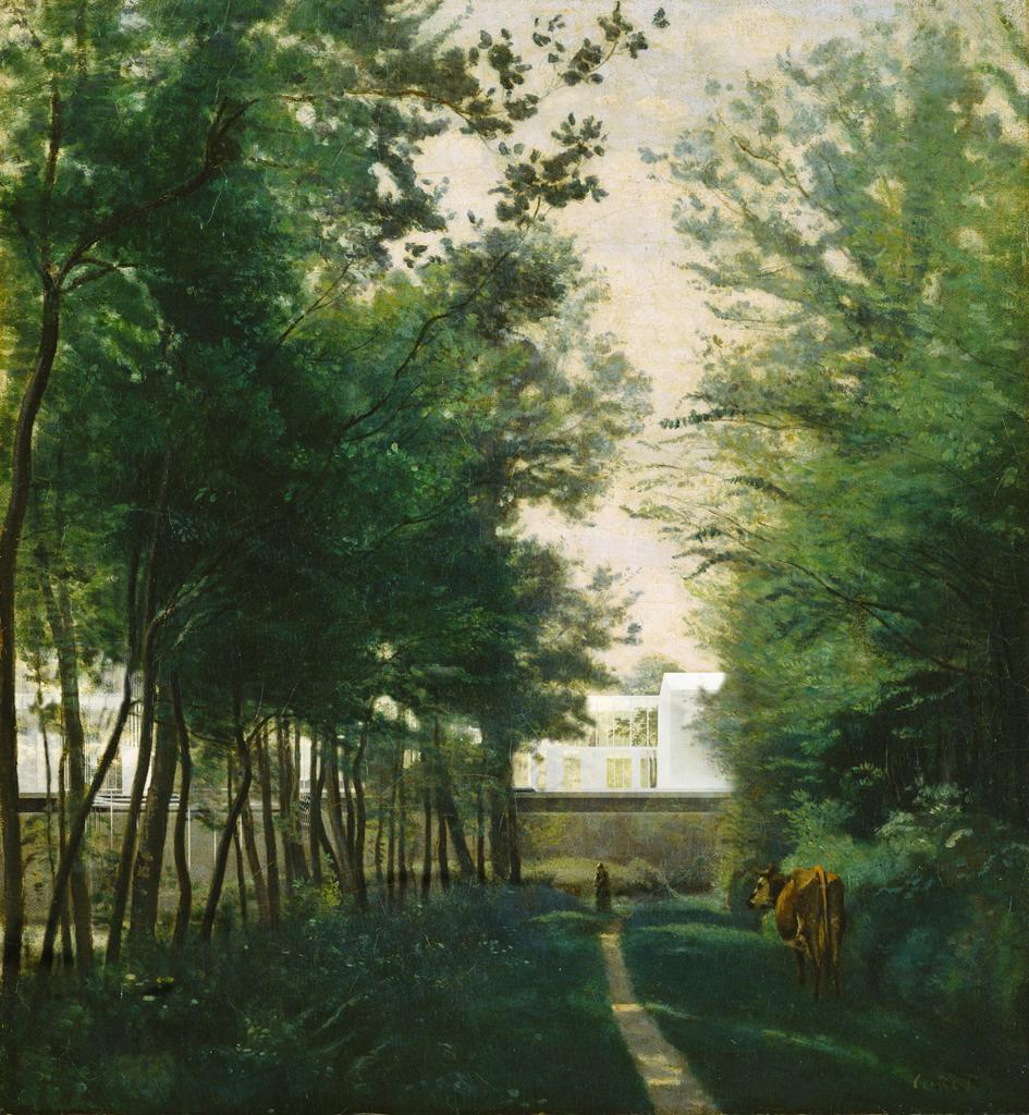 © studioakkerhuis - après la pluie - aia environnement - atelier gantner Perspective : D'après «Meadow Landscape With Cattle», Willem Roelofs