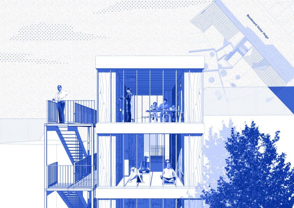 l 39 architecture d 39 aujourd 39 hui mini maousse 6 repenser l habitat temporaire pour faire face au. Black Bedroom Furniture Sets. Home Design Ideas
