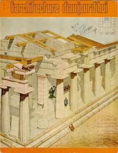 L'Architecture d'Aujourd'hui,  nº 143, 1969, couverture