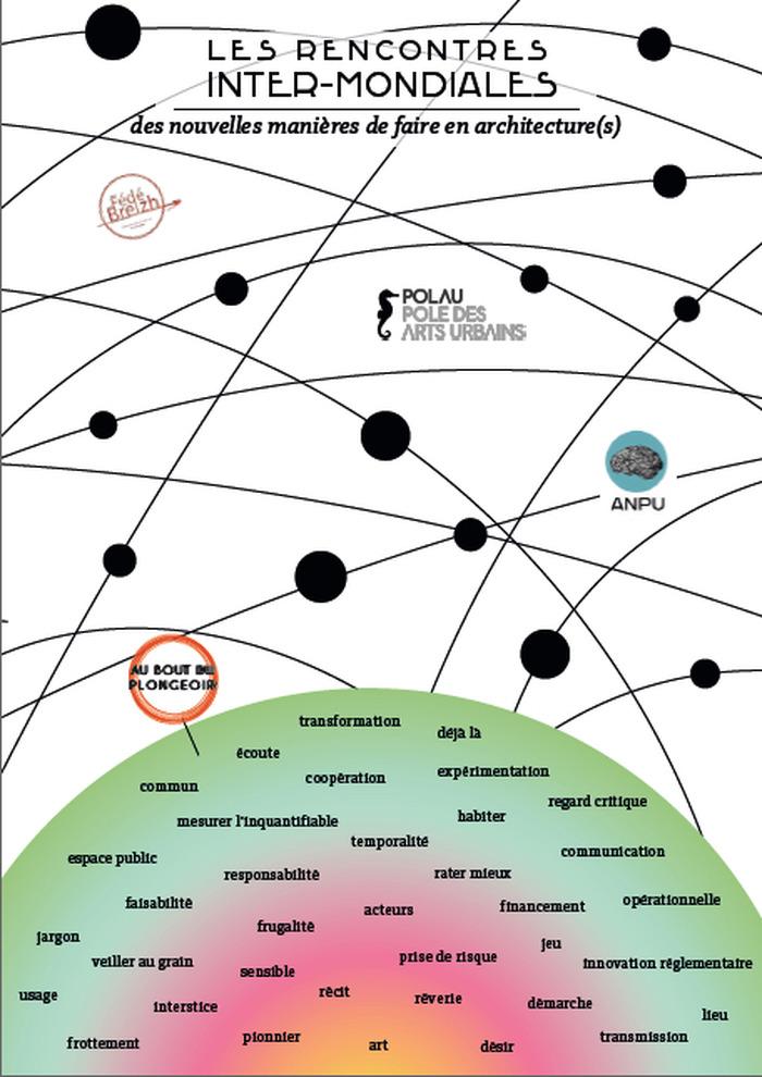 Les Rencontres inter-mondiales des nouvelles manières de faire en architecture(s)