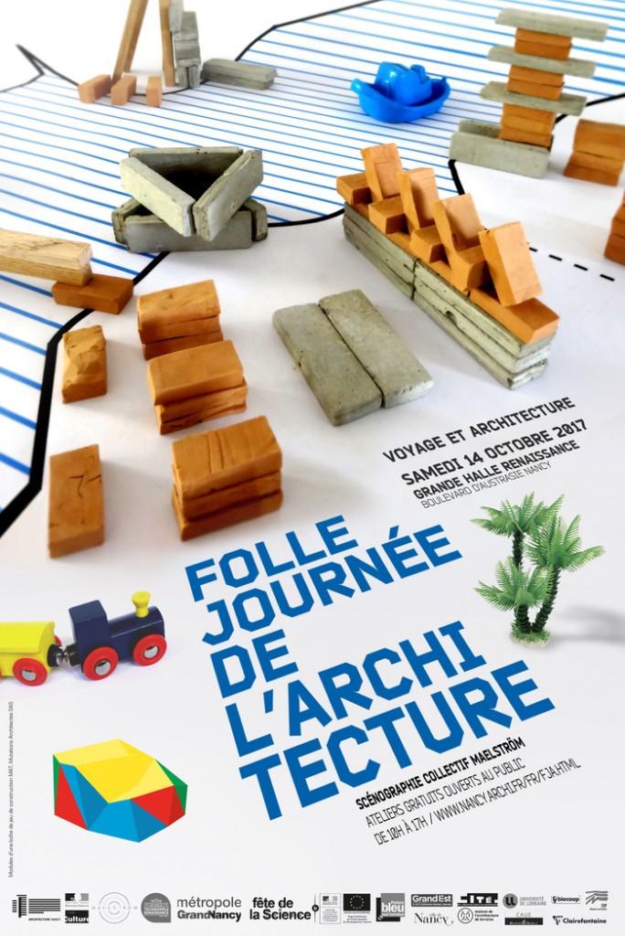 VOYAGE ET ARCHITECTURE : Folle journée de l'architecture 2017