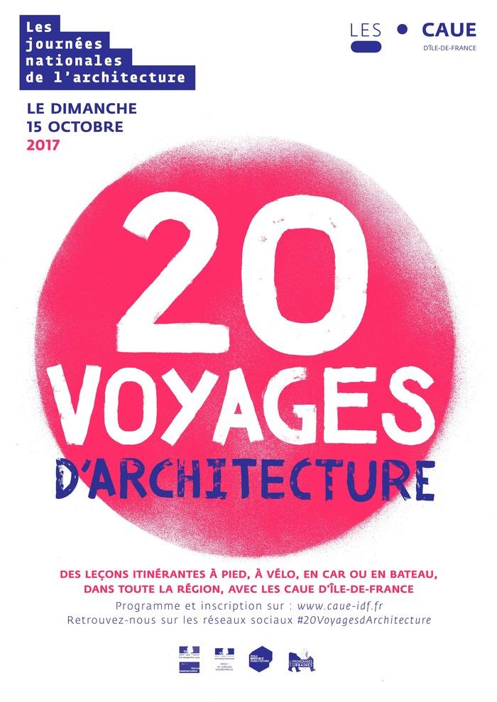 Vingt voyages d'architecture