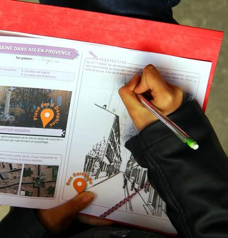 Carnet de balade urbaine : Aix moderne et contemporaine
