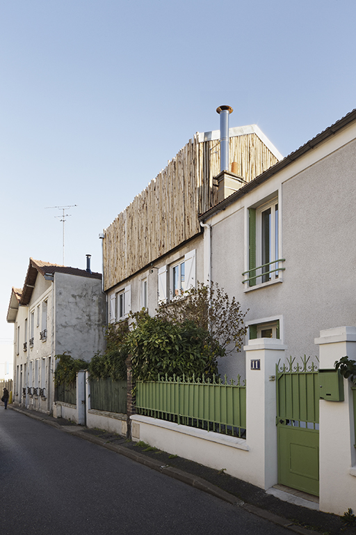 Extension Maison Malakoff Paris Architecture ©camillegharbi