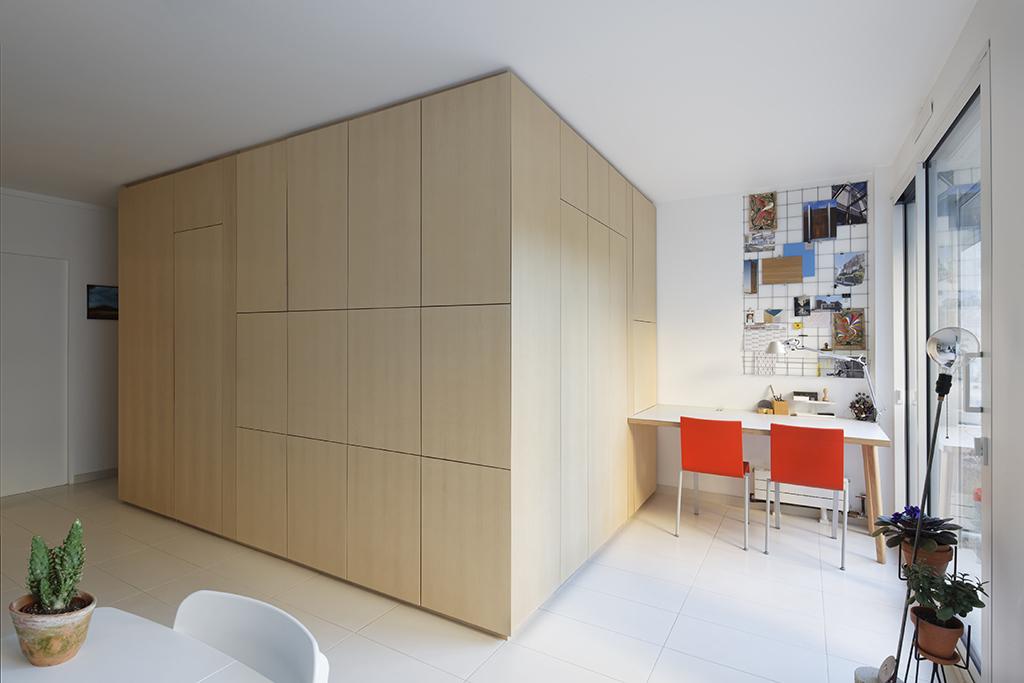 Appartement / Atelier à Paris ©camillegharbi