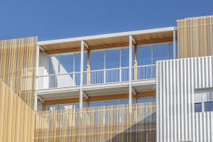 Résidence Lucien Cornil, A+Architecture ©Benoit Wehrlé