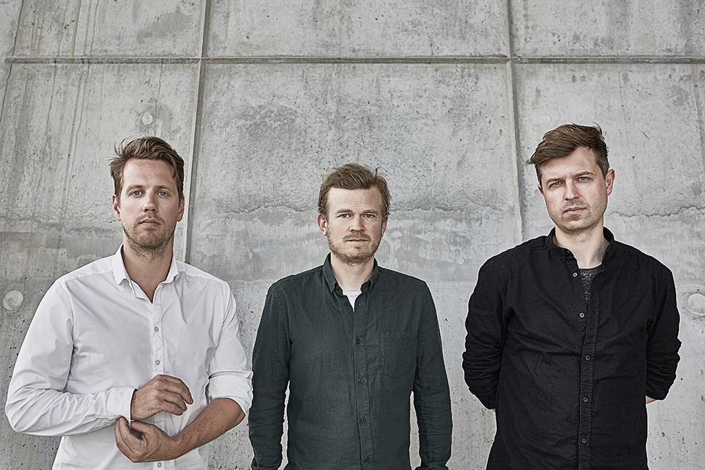 Anders Lonka, Martin Laursen et Martin Krog