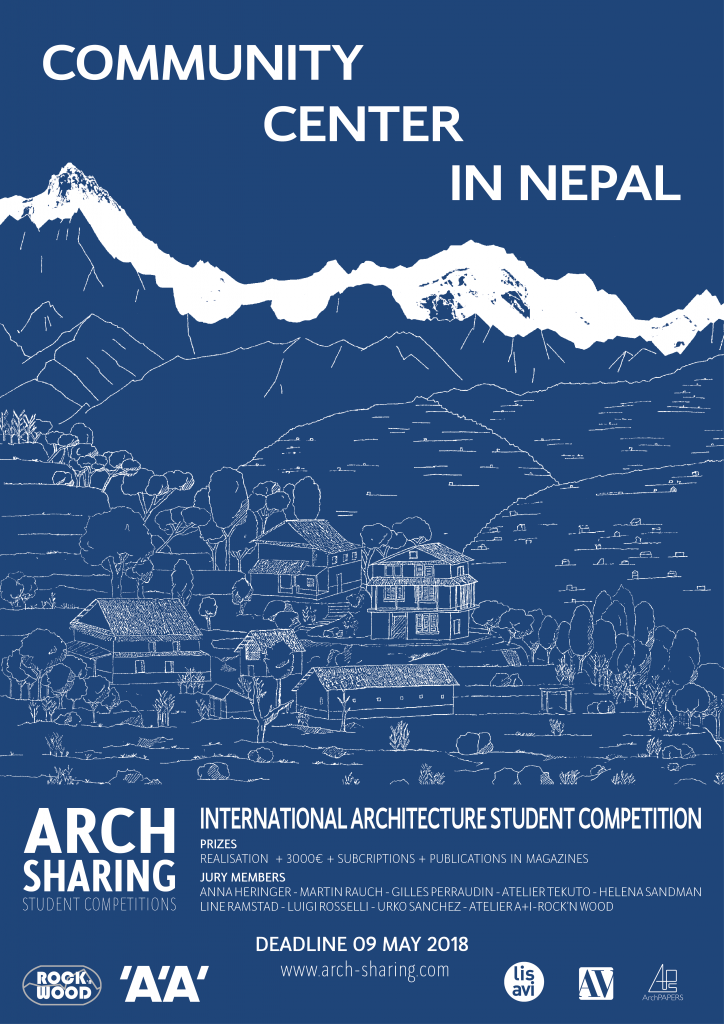 Community Center in Nepal, ARCHsharing 2018 © ARCHsharing