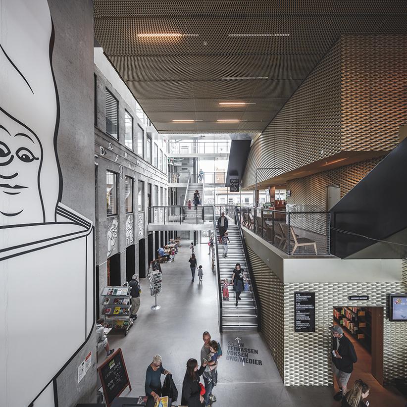 Biblioteket © Rasmus Hjortshøj - COAST