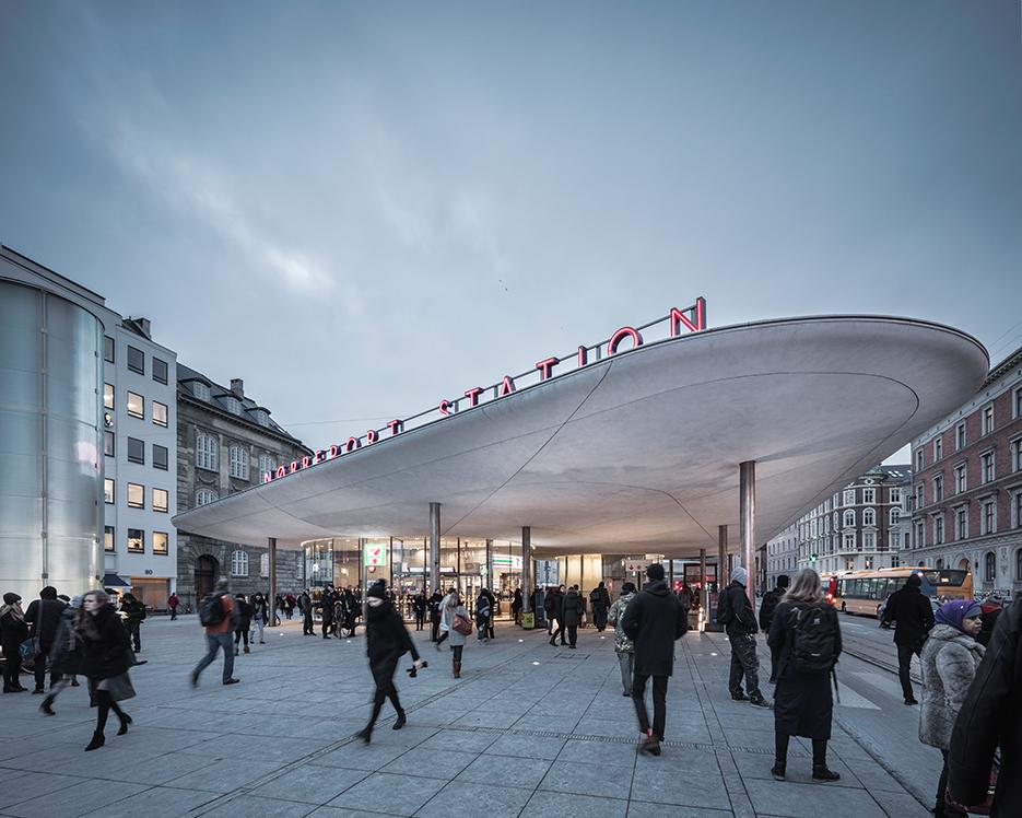 Nørreport Station © Rasmus Hjortshøj - COAST