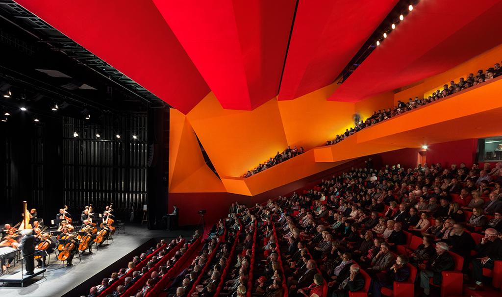 Théâtre Théodore Gouvy - Freyming Merlebach © Eugeni Pons