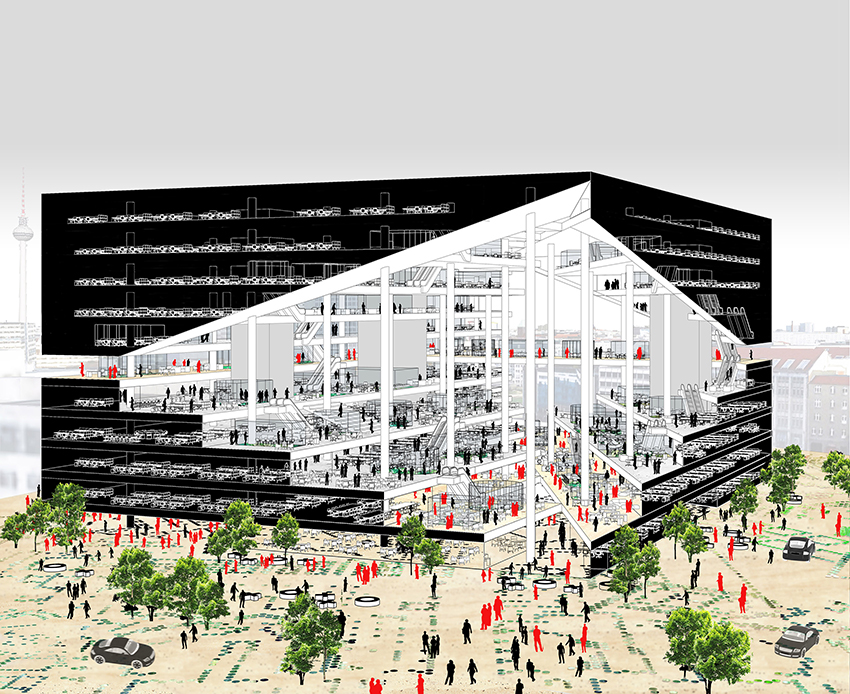 Axel-Springer Campus © image courtesy of OMA
