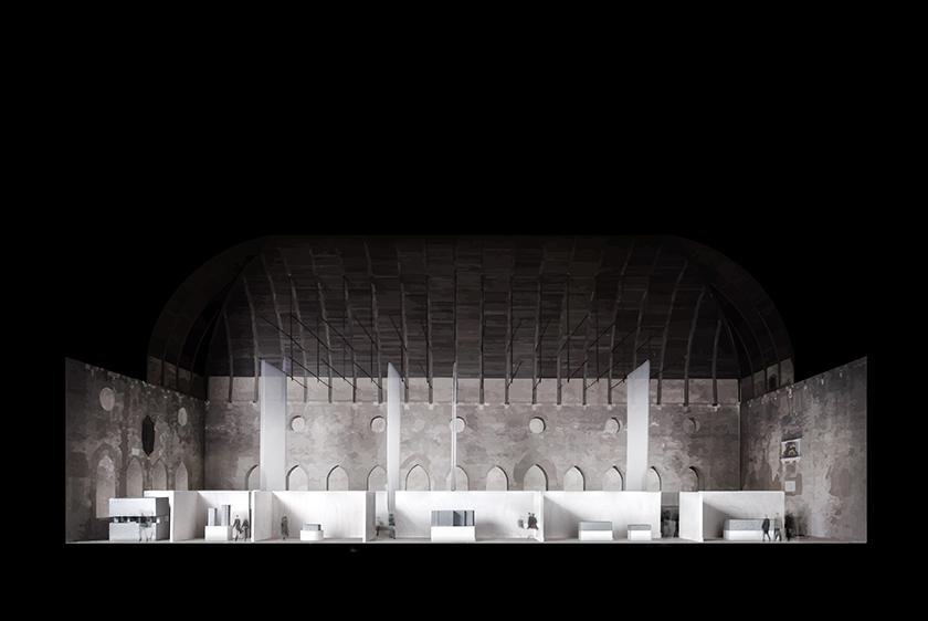 Installation rendering © David Chipperfield Architects