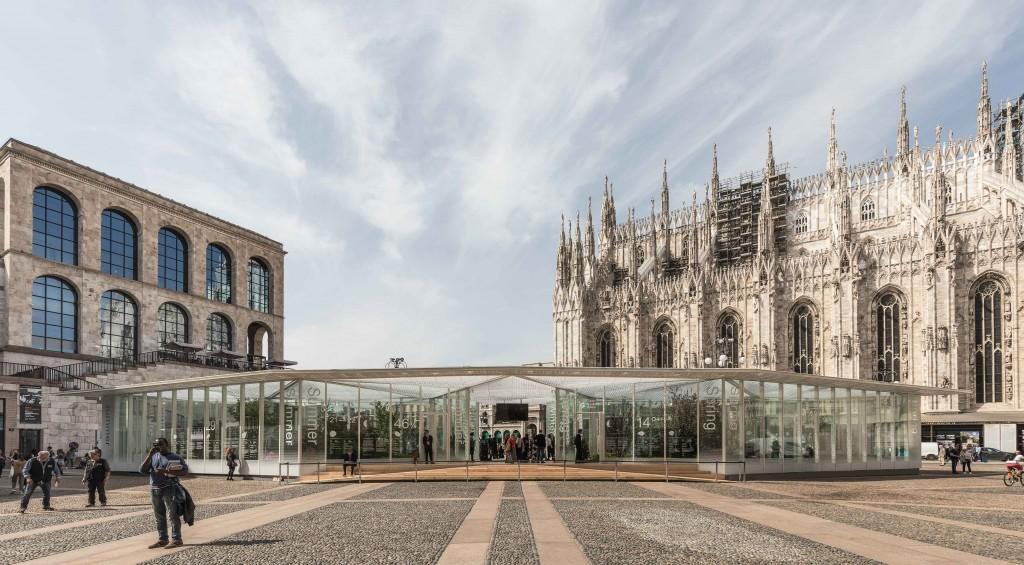 """Pavillon """"Living Nature. La Natura dell'Abitare"""" © Delfino Sisto Legnani e Marco Cappelletti"""