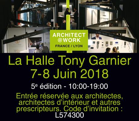 ARCHITECT AT WORK LYON 2018 - Visuel pour AA - 460x400