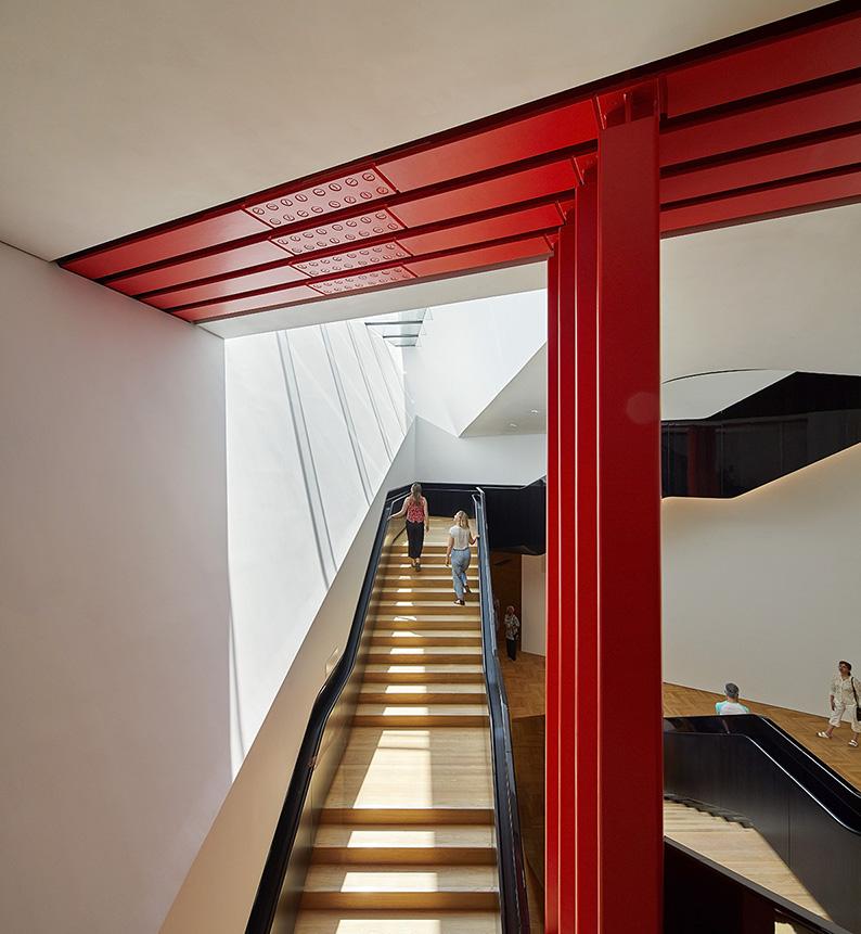 Cage d'escalier, V&A Museum © Hufton+Crow