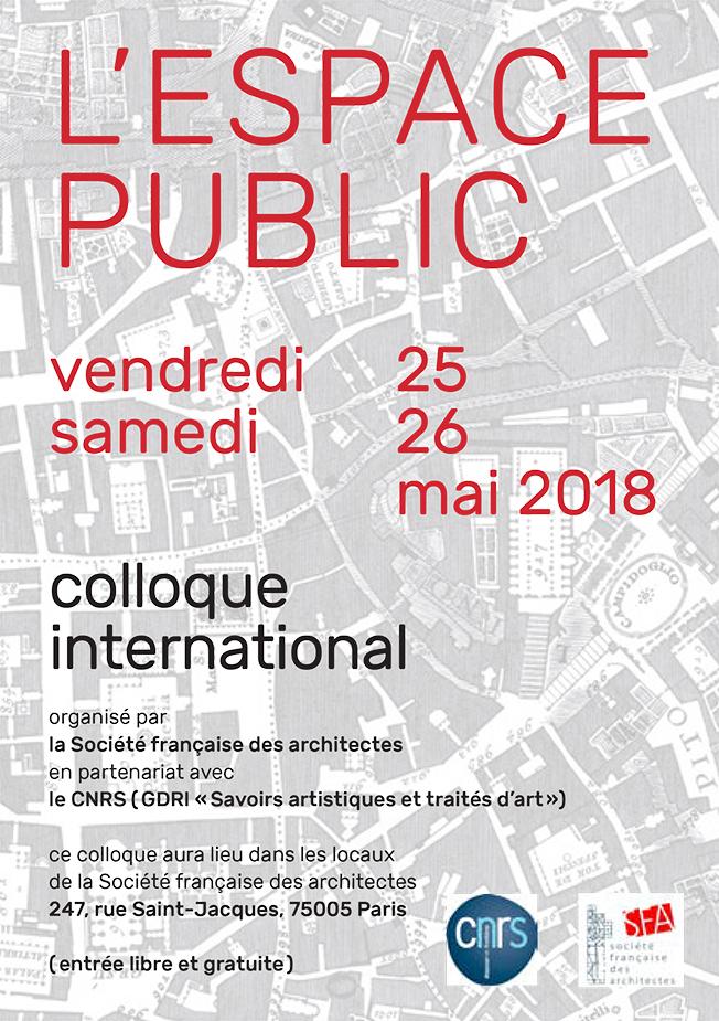 L'Espace public © Société française des architectes
