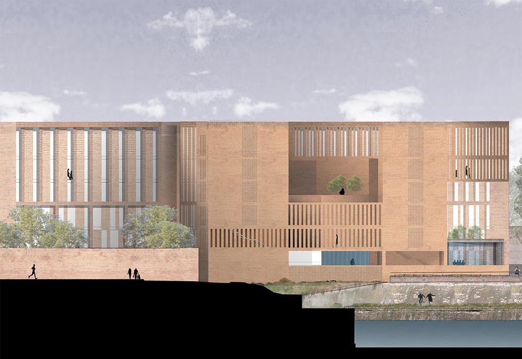 élévation © Grafton Architects