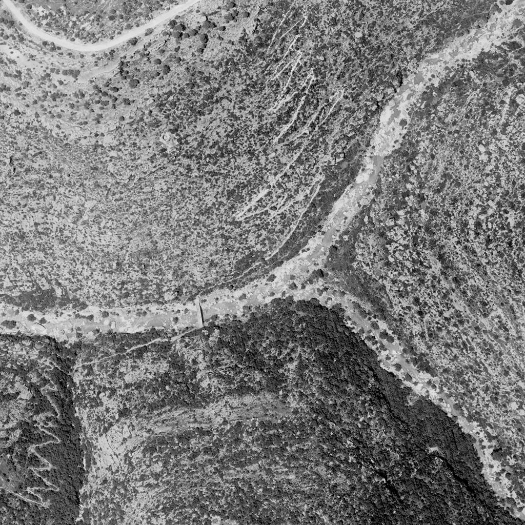 Aerial Photography, Liban 1956, D01, 001/60, 152 (detail) © DAG