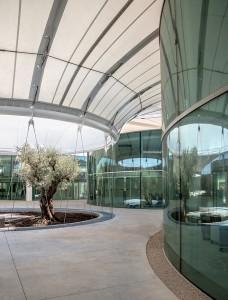 Intérieur du campus THECAMP © Lisa Ricciotti / Corinne Vezzoni et associés Architectes
