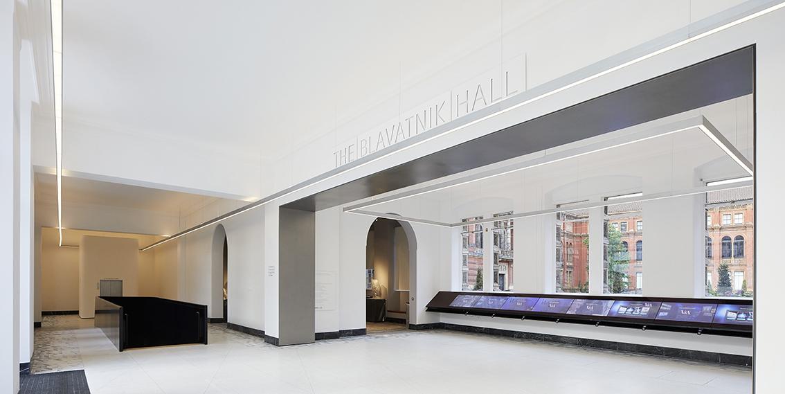 Hall Blavatnik , V&A Museum © Hufton+Crow