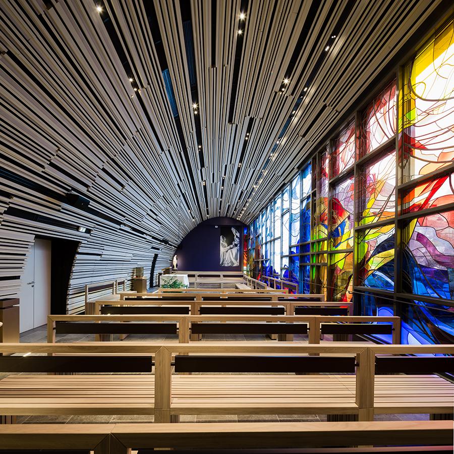chapelle Sainte Catherine Labouré © A26 Architectures