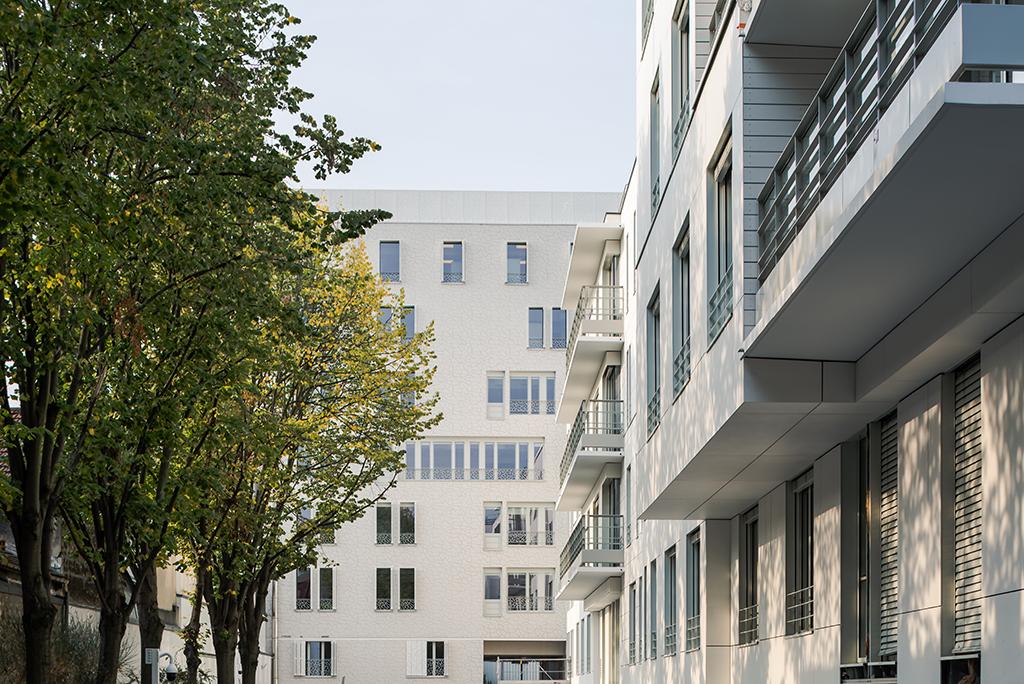 EHPAD coté jardin © A26 Architectures