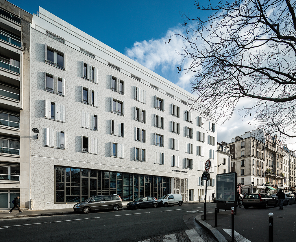 façade rue reuilly © A26 Architectures