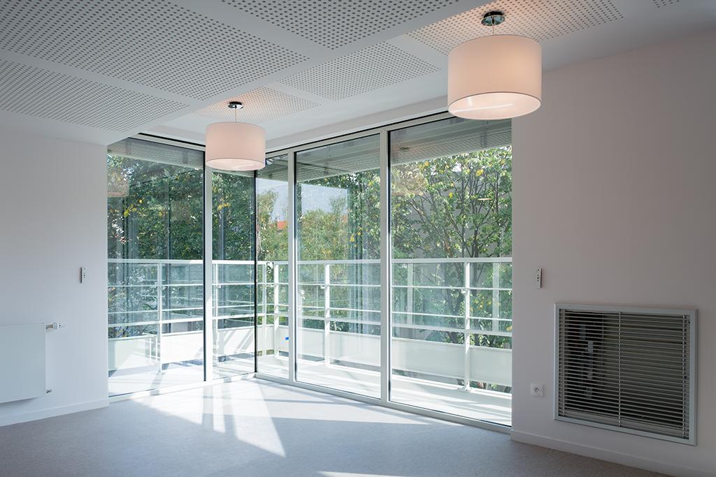 salon d'étage EHPAD © A26 Architectures