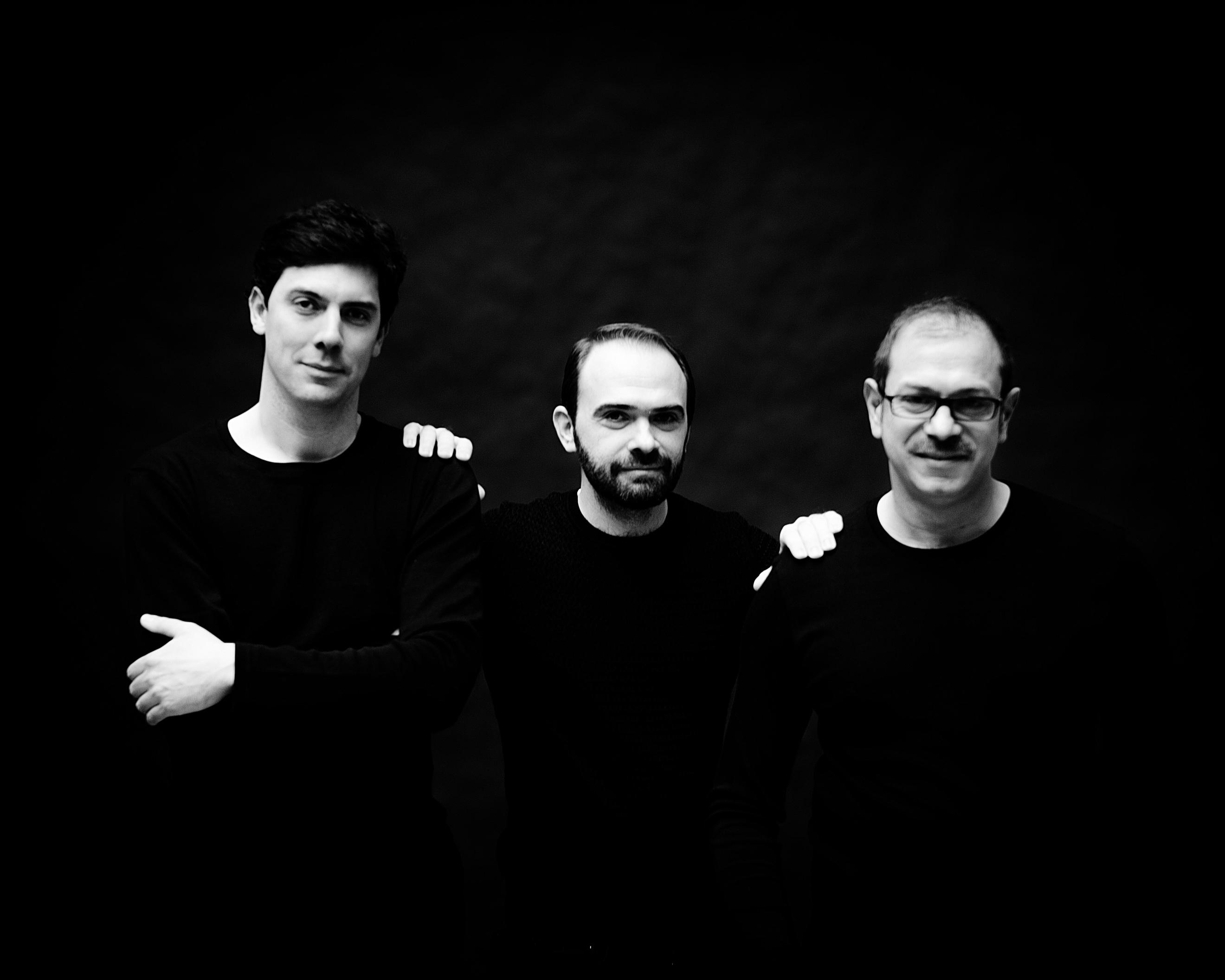 Julien Rousseau, Ulisse Gnesda et Luca Battaglia © Julien Mignot