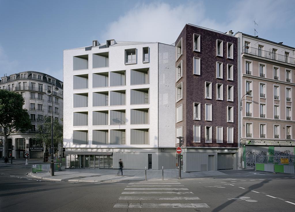 Projet de logements à Stalingrad (Paris) © David Foessel