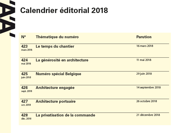 CALENDRIER EDIT WEB 2018-01